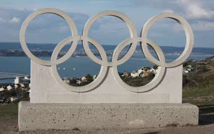 portland olympic rings